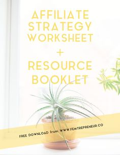 Grow Your Business With a Killer Affiliate Strategy (plus a FREE download workbook + scripts for you) — FEMTREPRENEUR