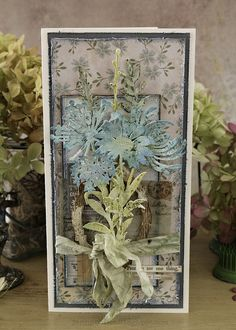 Hello everyone! I'm back today with the remainder of my cards created for the Tim Holtz Sizzix Chapter 1 release. I have enjoyed creating. Tim Holtz Dies, Tim Holtz Stamps, Card Making Inspiration, Making Ideas, Marianne Design, Card Tags, I Card, Paper Cards, Creative Cards
