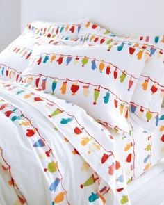 GRAND PATRICIAN - 2-Piece Twin Flannel Duvet Cover Set in Xmas ...