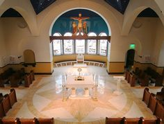 Our Lady of Guadalupe Adoration Chapel, Fargo, ND. New construction. Liturgical design by Rohn & Associates Design.