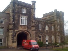 Bretby Hall, Bretby, UK with He Van Removals Brighton
