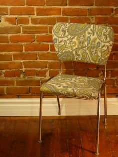 Vintage Chrome Chair - Sold