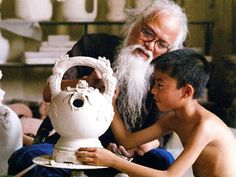 Bat Trang Ceramic village, Vietnam