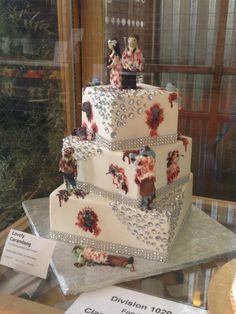 This is awesome! Zombie Wedding Cakes, Gothic Wedding, Cake Art, Beautiful Cakes, Halloween, Cake Designs, Cake Decorating, Designer Cakes, Decorated Cakes