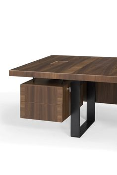 Executive desk / contemporary / in wood / metal - GAZEL by Faruk Malhan - Koleksiyon
