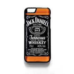 JACK DANIEL'S WHISKEY For Iphone 4/4S Iphone 5/5S/5C Iphone 6/6S/6S Plus/6 Plus Phone case ZG