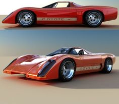 "Coyote X"" a Manta Montage kit car, which is based of the McLaren ..."