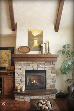 fireplace mantle I love the darker wood and the fact that the only wood is the mantle. No surround.rustic fireplace mantle I love the darker wood and the fact that the only wood is the mantle. No surround. Rustic Fireplace Mantle, Rustic Fireplaces, Home Fireplace, Fireplace Remodel, Fireplace Design, Fireplace Ideas, Classic Fireplace, Fireplace Makeovers, Brick Fireplaces
