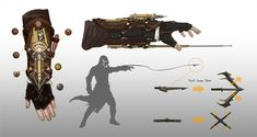 Bracer Grappling Hook from Assassin's Creed Syndicate