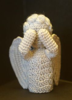 Don't Blink! | CrochetBot 3000    Free weeping angel pattern!