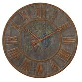 Found it at Wayfair - Levante Clock in Light Gray Wash