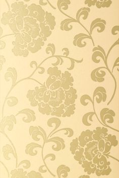 Anna French Wallpaper and Fabric - Glamour - Regal - Gold on Gold
