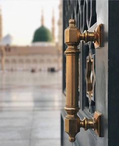 Entrance to the courtyard, Masjid Nabawi, Madinah Muslim Images, Islamic Images, Islamic Pictures, Islamic Art, Islamic Quotes, Mecca Madinah, Mecca Masjid, Masjid Al Haram, Islamic Wallpaper Iphone