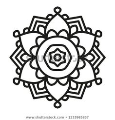 Find Simple Mandala Shape Coloring Vector Mandala stock images in HD and millions of other royalty-free stock photos, illustrations and vectors in the Shutterstock collection. Thousands of new, high-quality pictures added every day. Mandala Drawing, Mandala Art, Om Tattoo Design, Cloud Drawing, Simple Mandala, Cute Coloring Pages, Madhubani Painting, Flower Canvas, Mandala Coloring