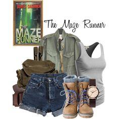The Maze Runner // Bethany Nerd Outfits, Fandom Outfits, Themed Outfits, Disney Outfits, Cool Outfits, Fashion Outfits, Movie Inspired Outfits, Fashion Women, Women's Fashion