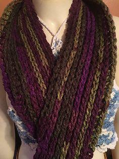 Camel Stitch Infinity Scarf - free crochet pattern by Intimate Threads- Jaime Johnson.
