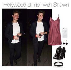"""""""Shawn Mendes"""" by hayleembrown ❤ liked on Polyvore featuring Fleur du Mal and Express"""