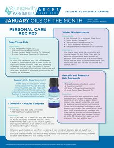 "January 2016 ""Muscle Up"" collection: Carrot Seed, Rosemary CT, 1.8 Cineol, and an additional sample - Personal Care Recipes (p. 1). Save $12 this month over buying them individually. #aromashare #youngevity #essentialoils https://cropwithme.buyygy.com/90forLifeStore/en/aromatherapy-essential-oils"