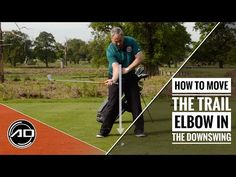 (15) How To Move The Trail Elbow In The Downswing - YouTube