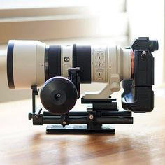 What are your gear goals? Love this! - Edelkrone + Sony + G Master Setup | Photo by @go.motion