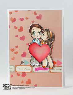 Two hearts Kody and Mae (digi) by Isha Gupta