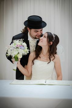 Tuba and Hearn's Wedding - More of the happy couple