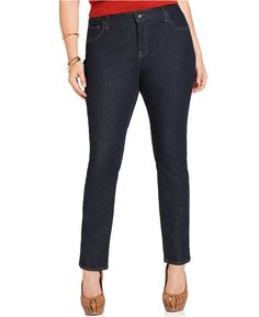 Lucky Brand Jeans Plus Size Jeans, Ginger Skinny Dark Curson Wash - Plus Size Jeans - Plus Sizes - Macy's