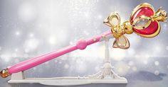 Sailor Moon Spiral Heart Moon Rod Proplica
