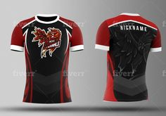 Fiverr freelancer will provide Logo Design services and make a mascot for gaming or esports logo in 24 hours including # of Initial Concepts Included within 1 day Cricket Uniform, Esports Logo, Football Kits, Logo Design Services, Motorcycle Jacket, Shirt Designs, Gaming, Awesome, T Shirt
