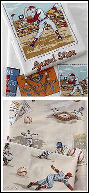 World Series Sheet Set-baseball bedding-Grand Slam Sheet Set POSH