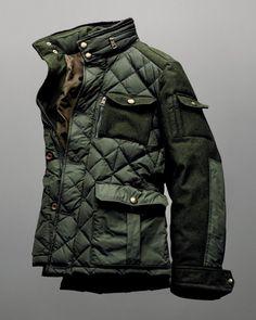beyondfabric:  Moncler x Bergdorf Goodman 111th Aniversary Rodriguez Field Jacket
