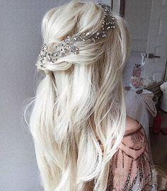 Easy Summer Hairstyles, Best Wedding Hairstyles, Loose Hairstyles, Braided Hairstyles, Prom Hairstyles, Trendy Hairstyles, Bride Hairstyles For Long Hair, Engagement Hairstyles, Long Hairstyles