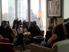 On 2/29 I filmed a segment for New York Live at Azure,   Azure is a 34-story luxury residential building located at 333 East 91st Street on Manhattan's Upper East Side. Check out this fabulyss building at http://azureny.com/