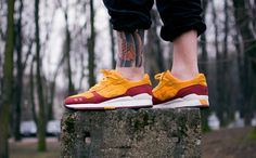 Hanon do great collaborations. The Asics Gel Lyte III Wildcats. #sneakers