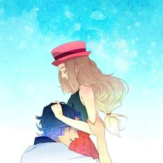 1000+ images about Pokemon on Pinterest | Professor, Hot ...Serena And Professor Sycamore