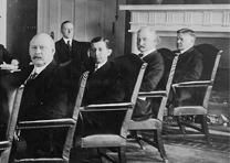 Warren Harding and his Cabinet, 1921 (Library of Congress Prints and Photographs Division)