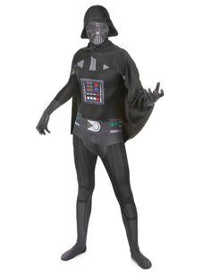 Star Wars 2nd Skin Ganzkörper Stretch Overall Darth Vader Rub