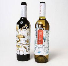 El Inspector Gadget bebería este vino, seguro. (Inspector Gadget would drink this wine, for sure.)