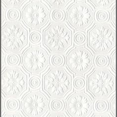 Anaglypta Supaglypta Spencer Floral Paintable Wallcovering We love these paintable wallpapers, they are such a great way to add texture to any room in any color you desire, simply apply and then paint