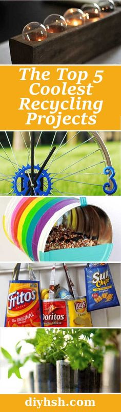 DIY Home Sweet Home: Top 5 Coolest Recycling Projects