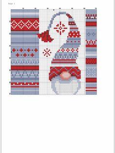 Needlepoint Patterns, Counted Cross Stitch Patterns, Cross Stitch Charts, Cross Stitch Embroidery, Xmas Cross Stitch, Cross Stitching, Christmas Sewing Patterns, Stitch And Angel, Christmas Embroidery