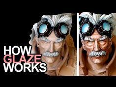 Glaze VS Wash - Which Technique Should I use? Painting Tips, Figure Painting, Painting Techniques, Painting Tutorials, Modeling Techniques, Modeling Tips, Warhammer Paint, Warhammer Models, Warhammer 40k