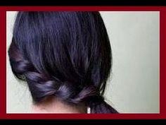 Прическа хвостик с плетением на боку. Прически на длинные волосыhttps://www.youtube.com/watch?v=SDM1Oq9jY24