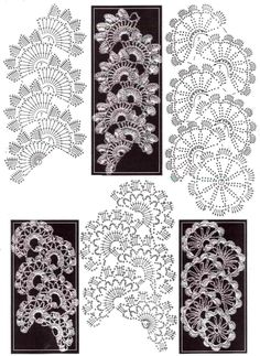 More variations on Queen Anne style lace.