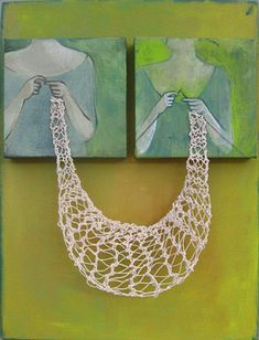 One of my new favorite mixed-media artists :)