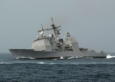 US Navy Ship on the great Alantic