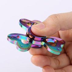 Colorful Clover Shaped Stress Reducer Finger Gyro
