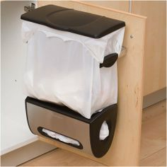 Creative Doors Hang Trash Baskets Desktop Box Garbage Kitchen Cabinet Storage DR