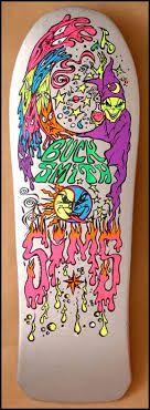 Creature Dave ANDRECHT Upside Down Logo Skateboard T Shirt CHARCOAL XXL