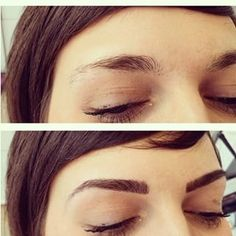 Really thinking about trying this! Women Are Getting Eyebrow Extensions And The Results Are Totally Mind-Blowing Permanent Makeup Eyebrows, Eyebrows On Fleek, Eye Brows, Beauty Junkie, Makeup Junkie, Beauty Lash, Hair Beauty, Eyebrow Extensions, Perfect Brows